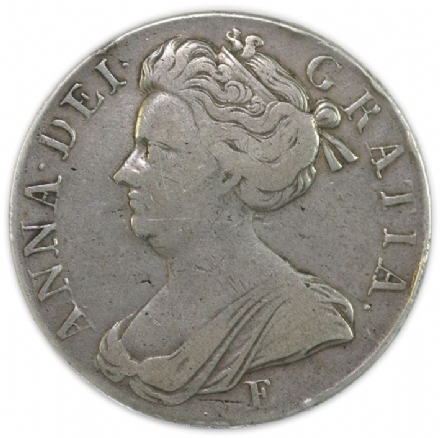 Queen Anne Silver Crown